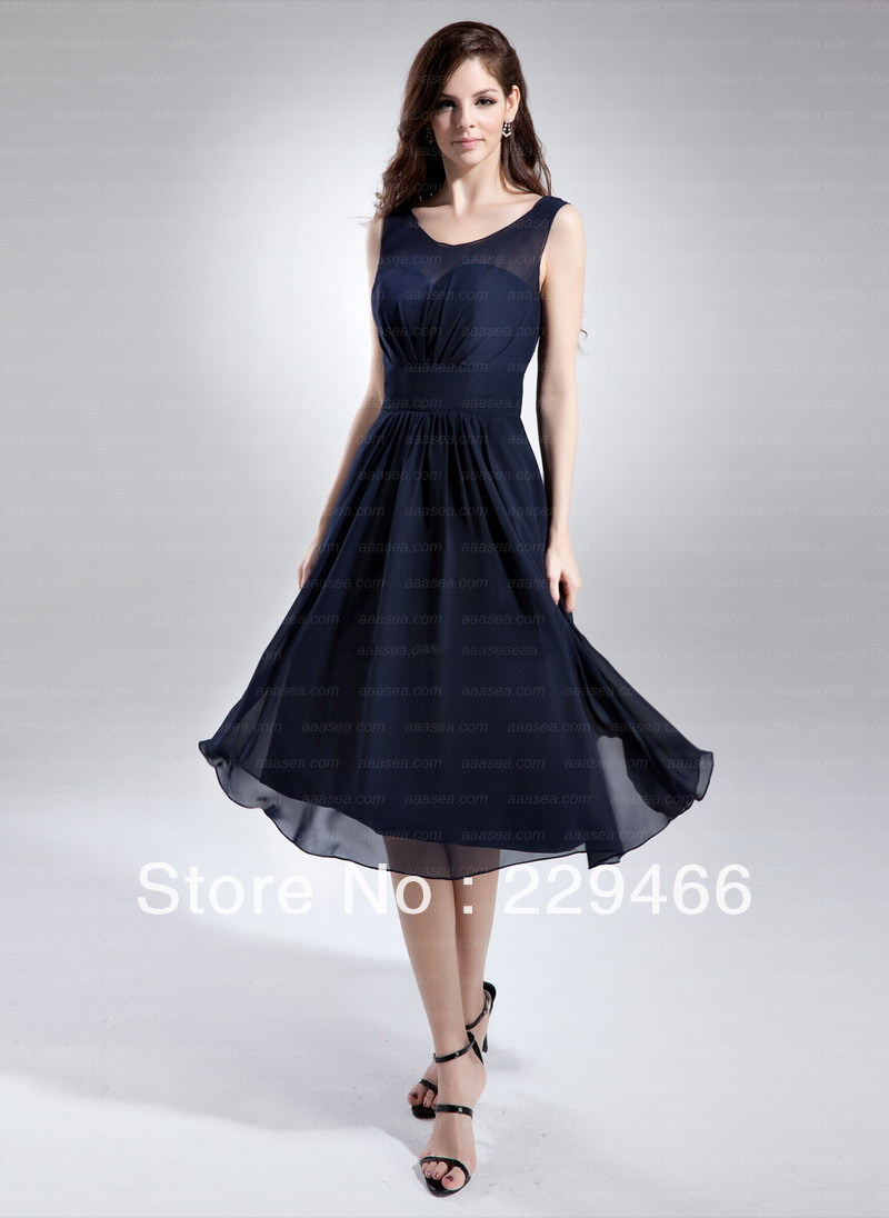 midlength evening dresses photo - 1