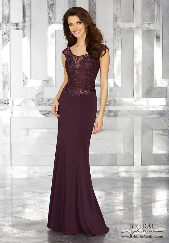 mother of the bride elegant dresses photo - 1