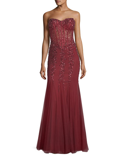 neiman marcus evening dresses on sale photo - 1