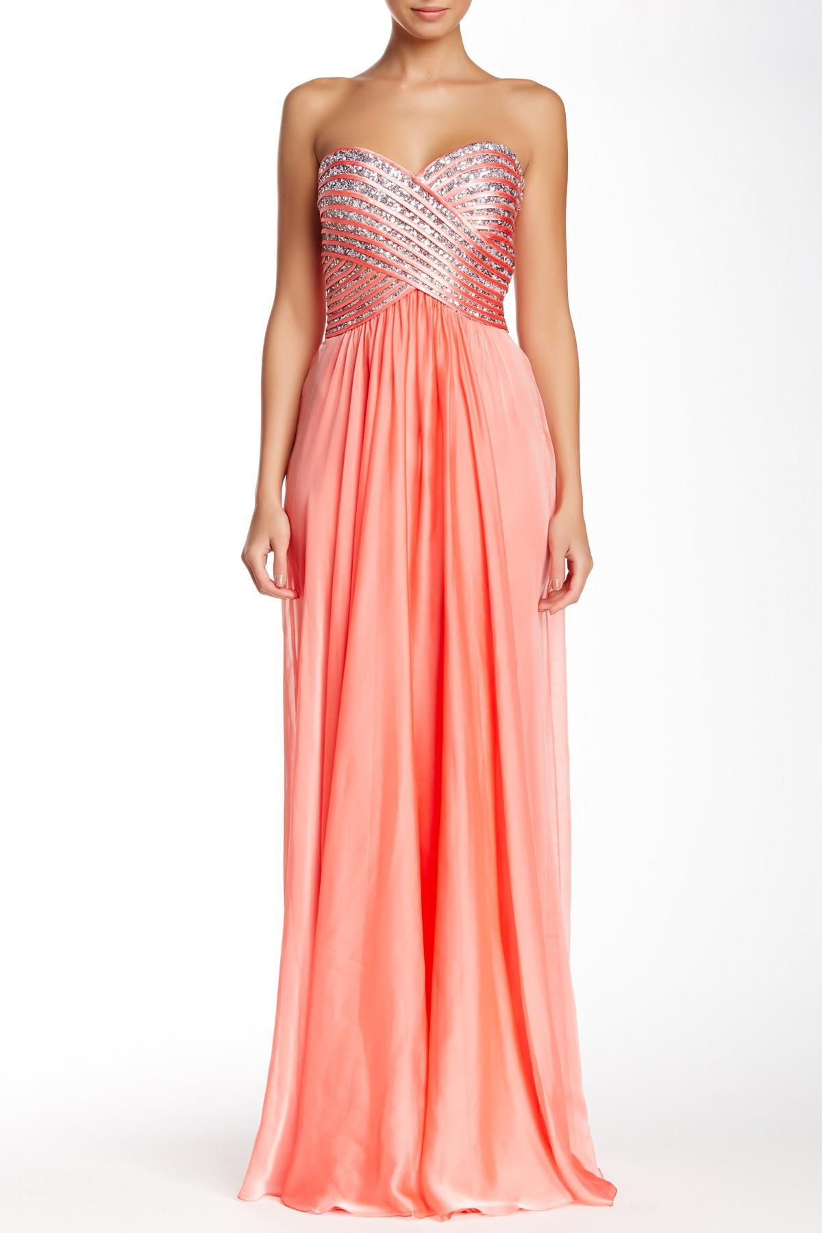 nordstrom rack evening dresses photo - 1