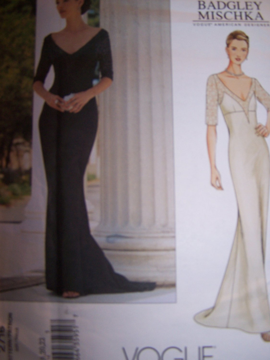 pattern for evening dress photo - 1