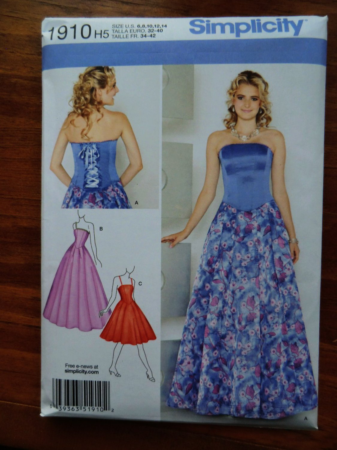 pattern for evening dresses photo - 1