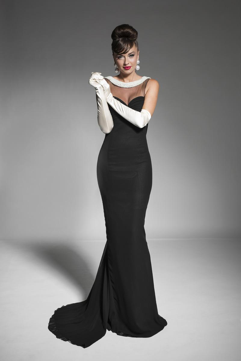 petite black evening dresses photo - 1