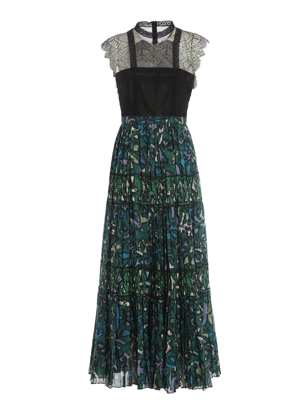 pleated evening dresses photo - 1