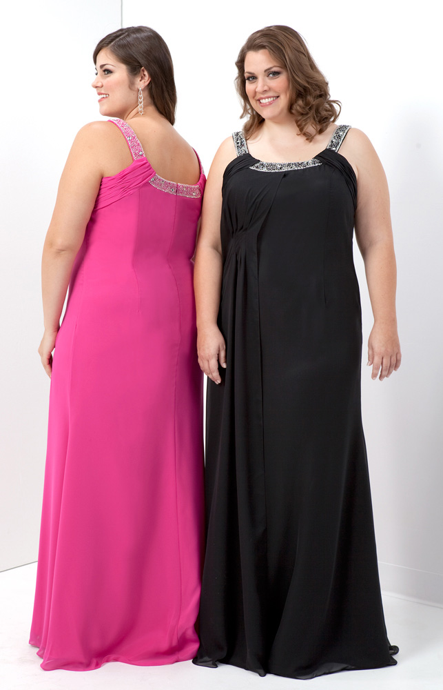 plus size short evening dresses photo - 1