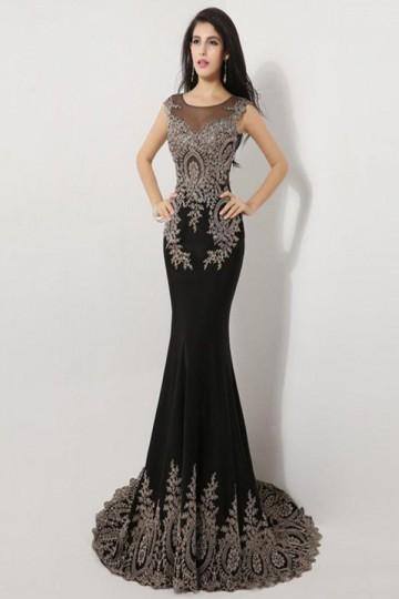 plus size tea length evening dresses photo - 1