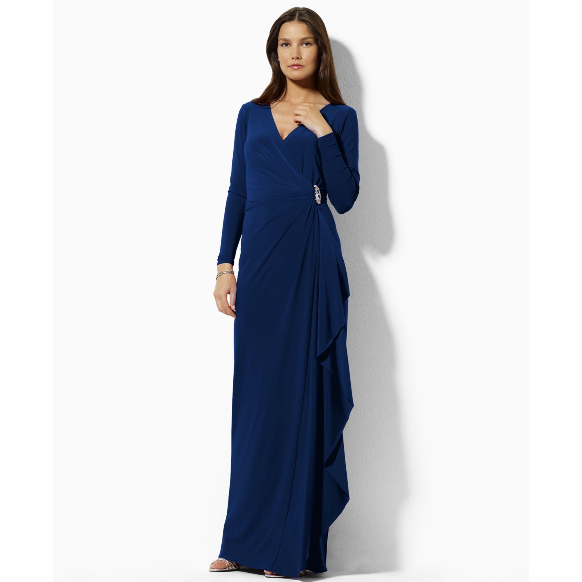 ralph lauren long evening dresses photo - 1