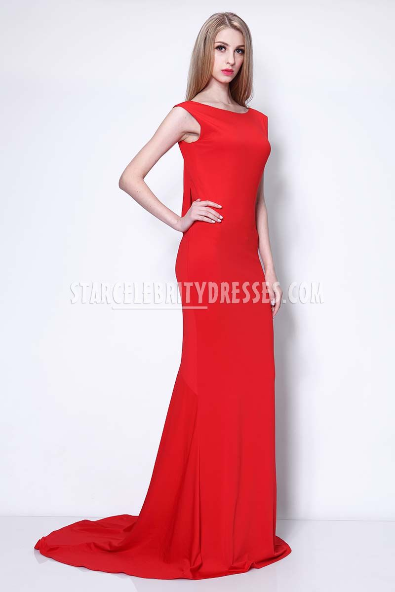 red and gold evening dresses photo - 1