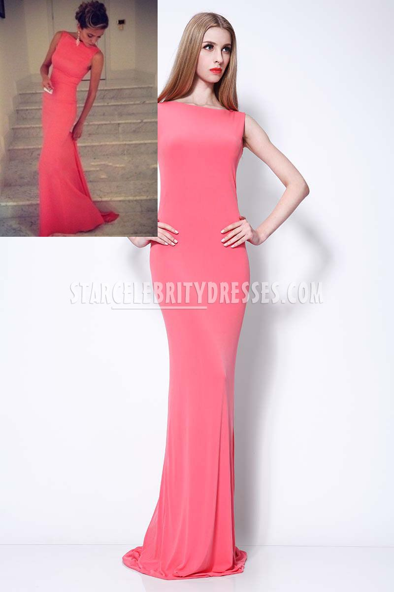 red and white evening dresses photo - 1