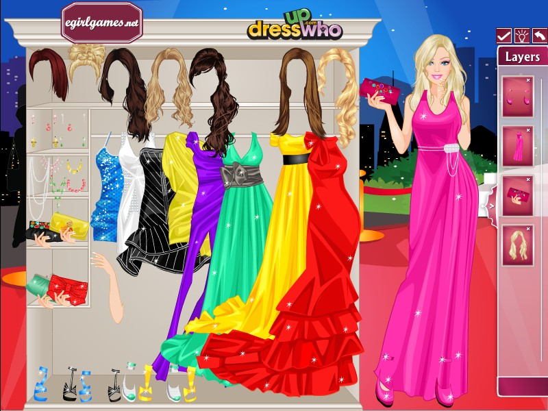 red carpet dress up games photo - 1