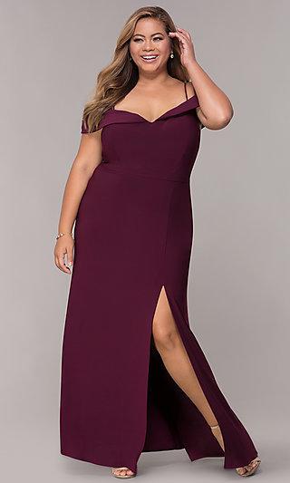 red elegant dresses photo - 1