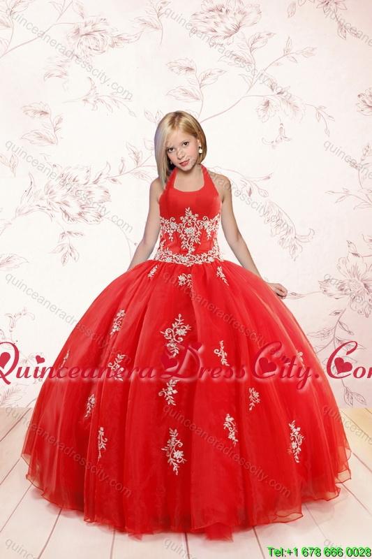 red elegant prom dresses photo - 1