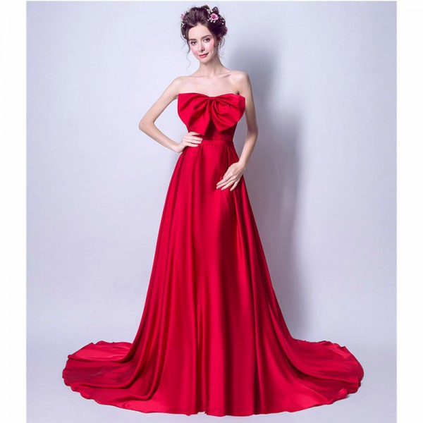 romantic evening dresses photo - 1