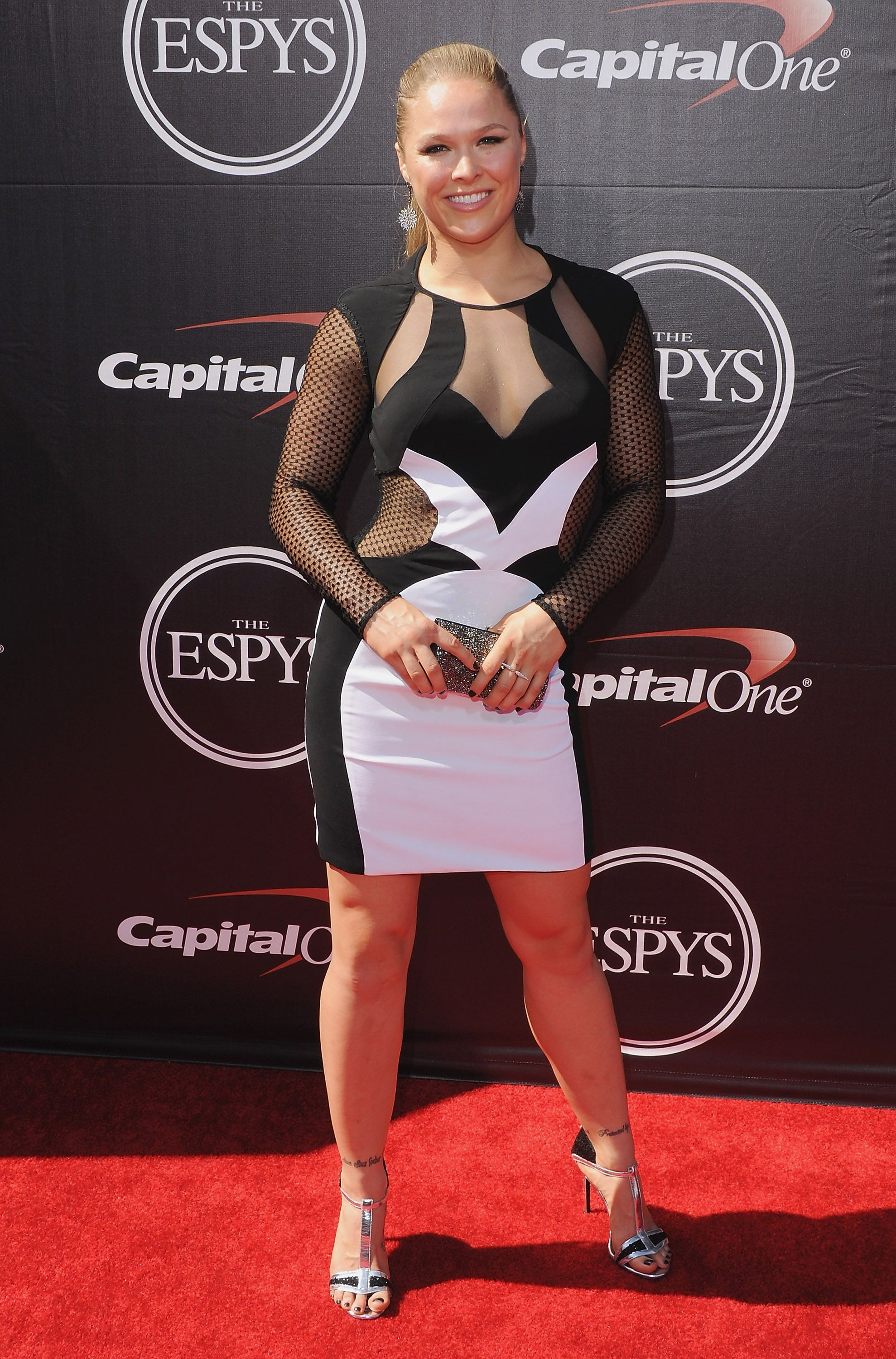 ronda rousey red carpet dress photo - 1