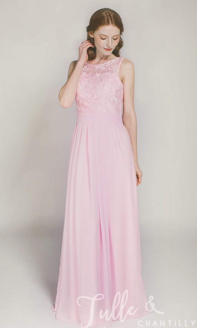 rose evening dress photo - 1