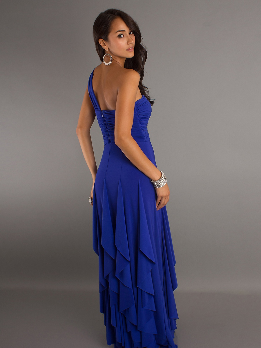 royal blue elegant dresses photo - 1