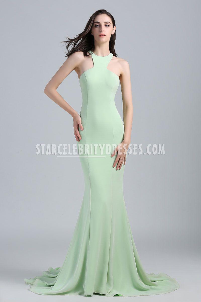 sage green evening dresses photo - 1