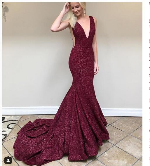 sequined evening dresses photo - 1