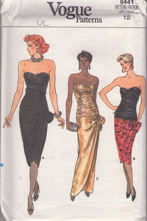sewing patterns evening dresses photo - 1