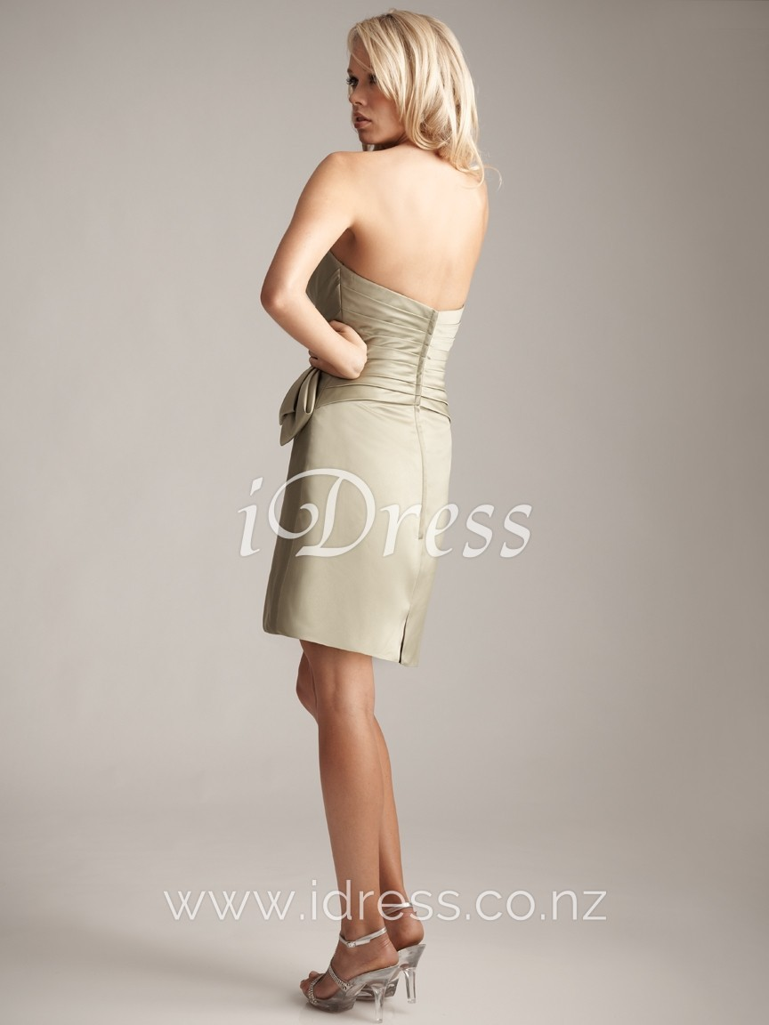 sheath evening dress photo - 1