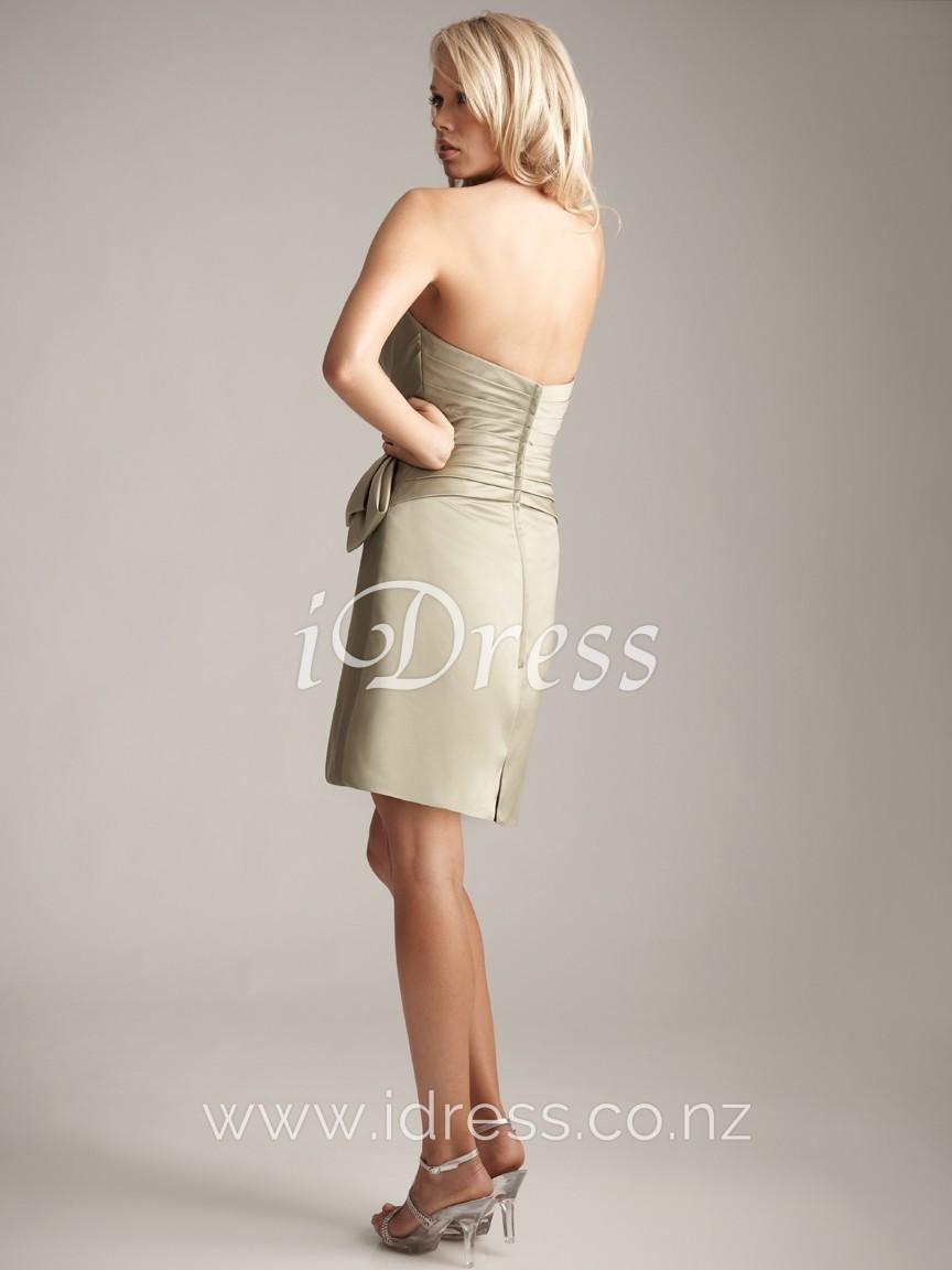 sheath evening dress photo - 1