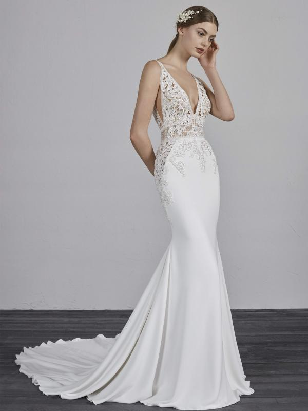 short elegant wedding dresses photo - 1