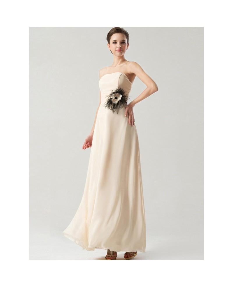 simple elegant long dresses photo - 1