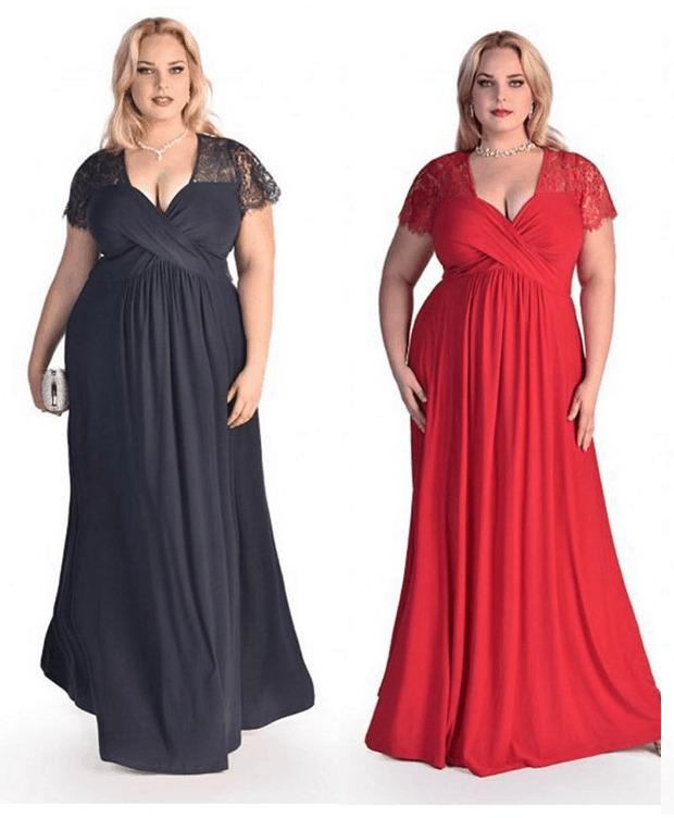 size 24 evening dress photo - 1