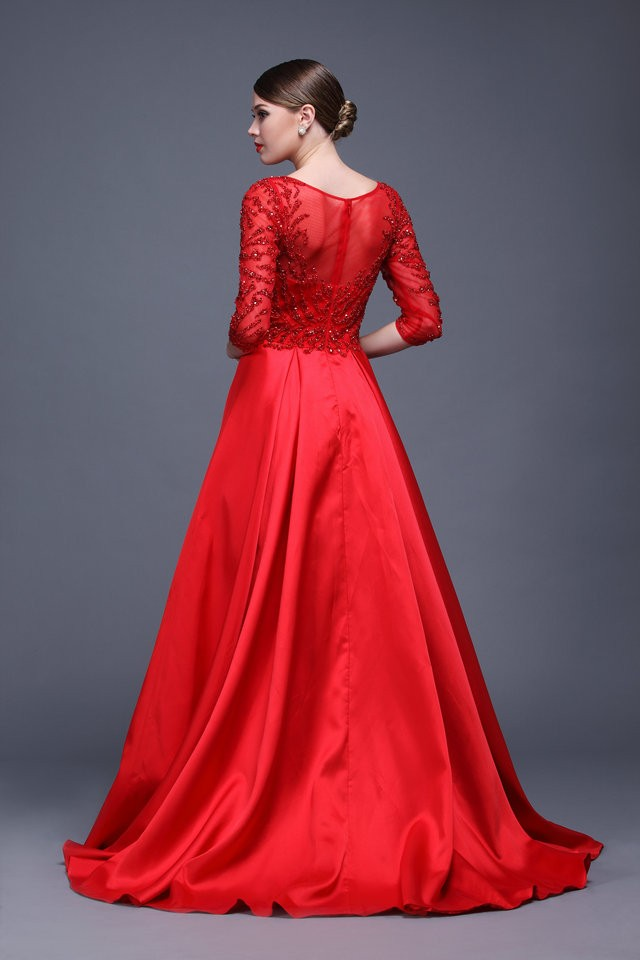 sophisticated evening dresses photo - 1
