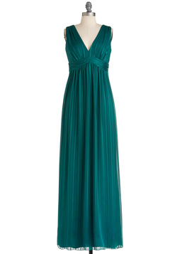 teal evening dresses photo - 1