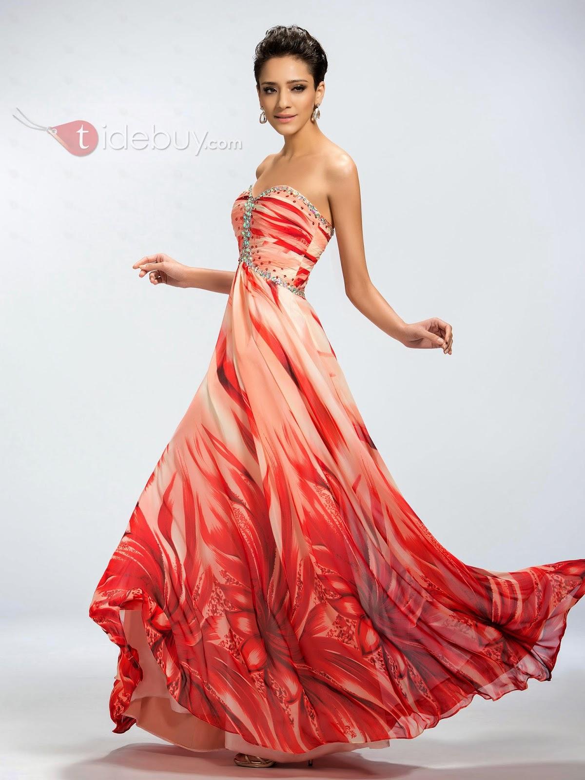 tidebuy evening dresses photo - 1