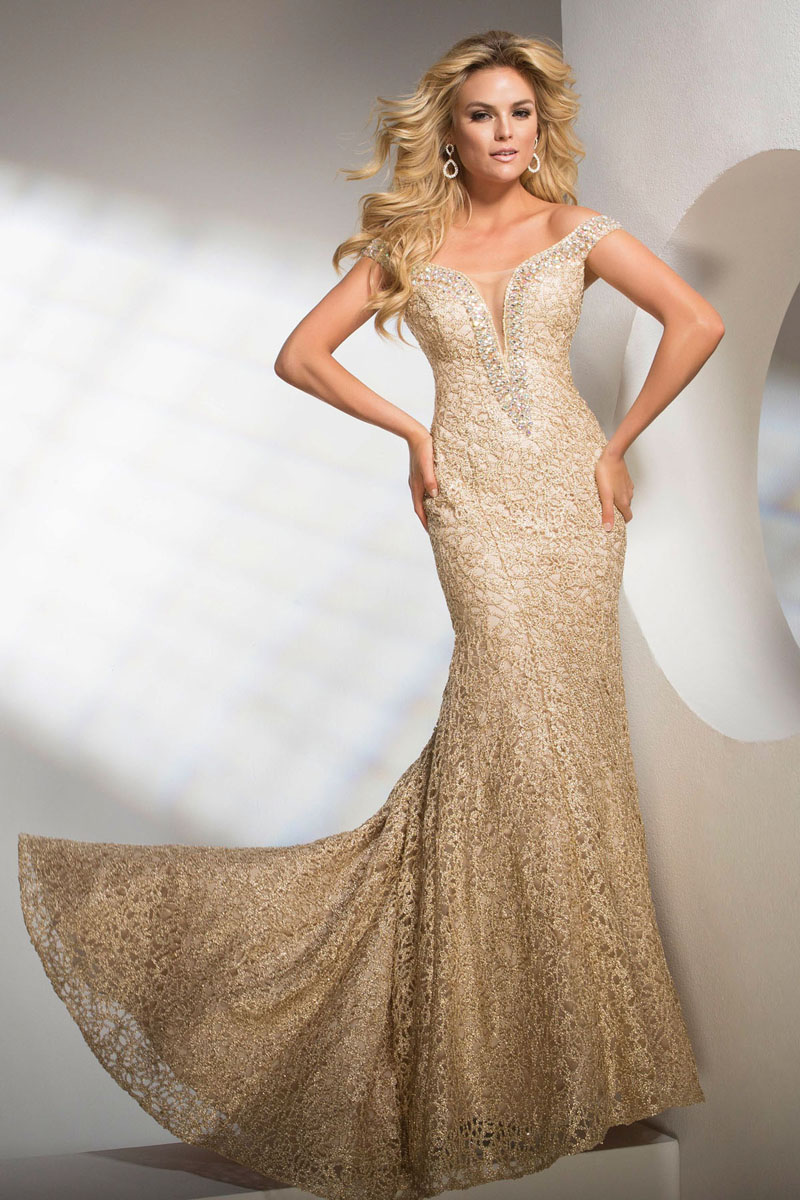 tony bowls evening dresses photo - 1