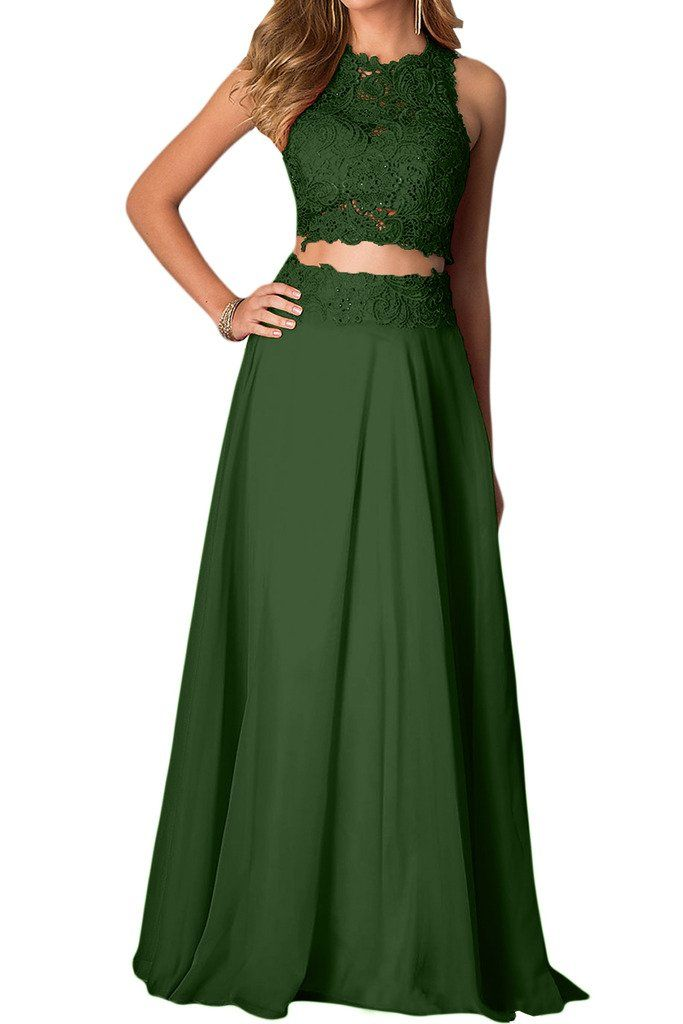 two piece evening dresses photo - 1
