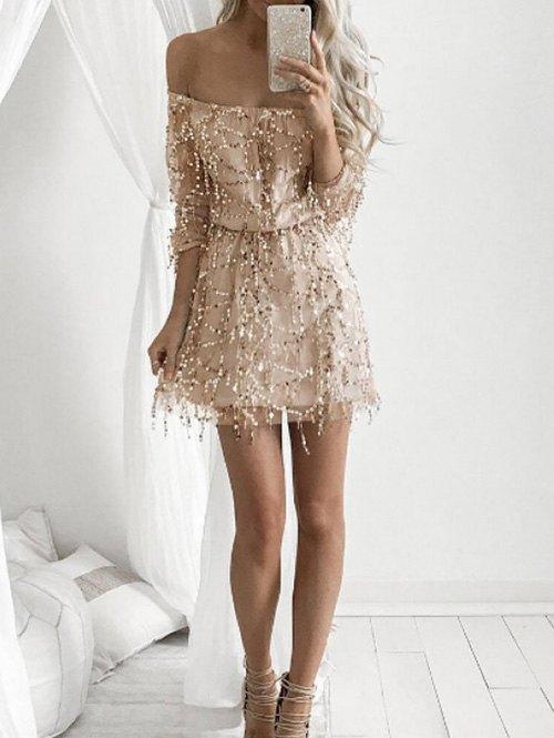 white elegant dresses for women photo - 1