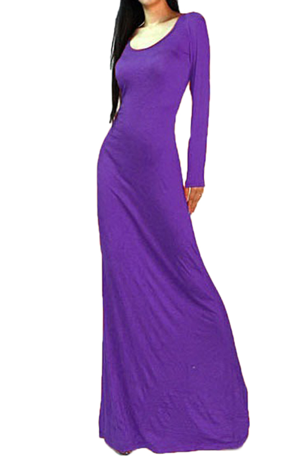 womens elegant long dresses photo - 1