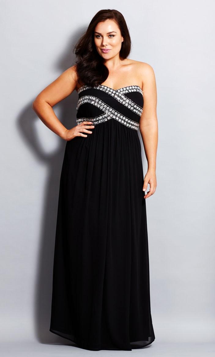 womens evening dresses plus sizes photo - 1