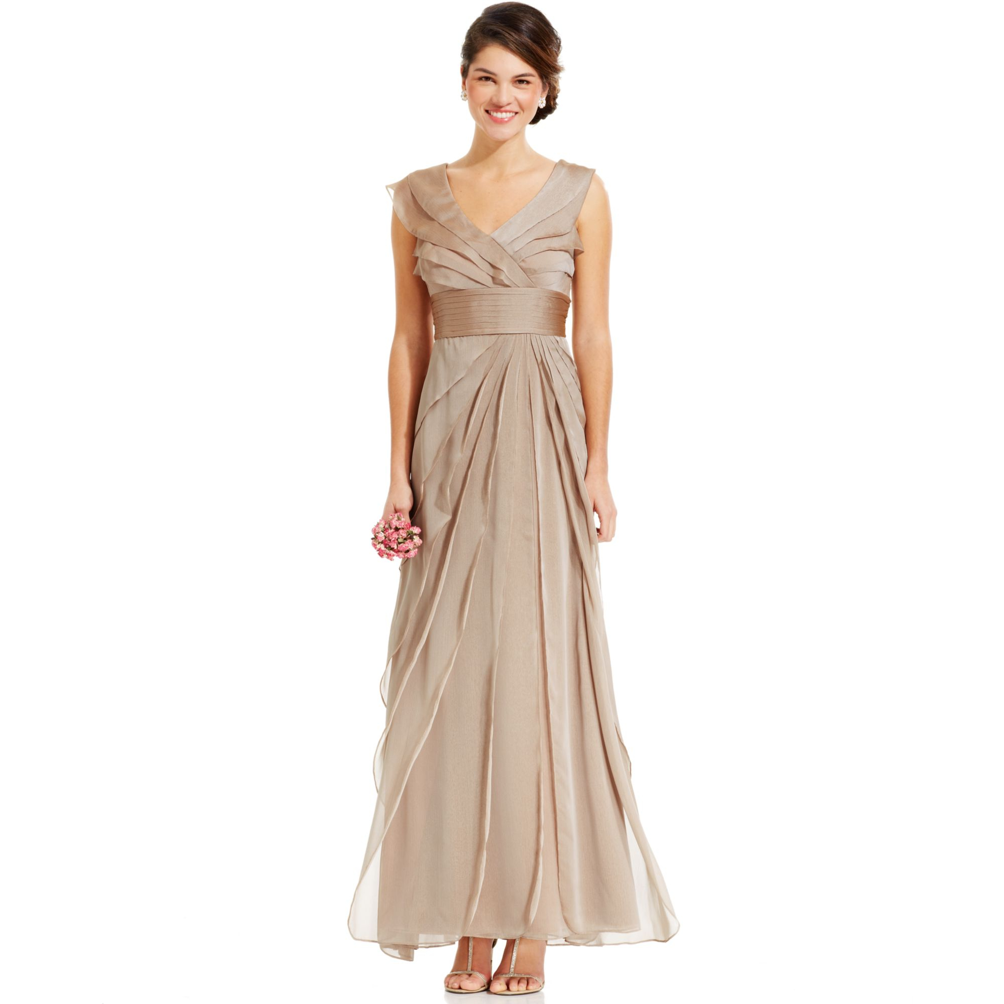 womens petite evening dresses photo - 1