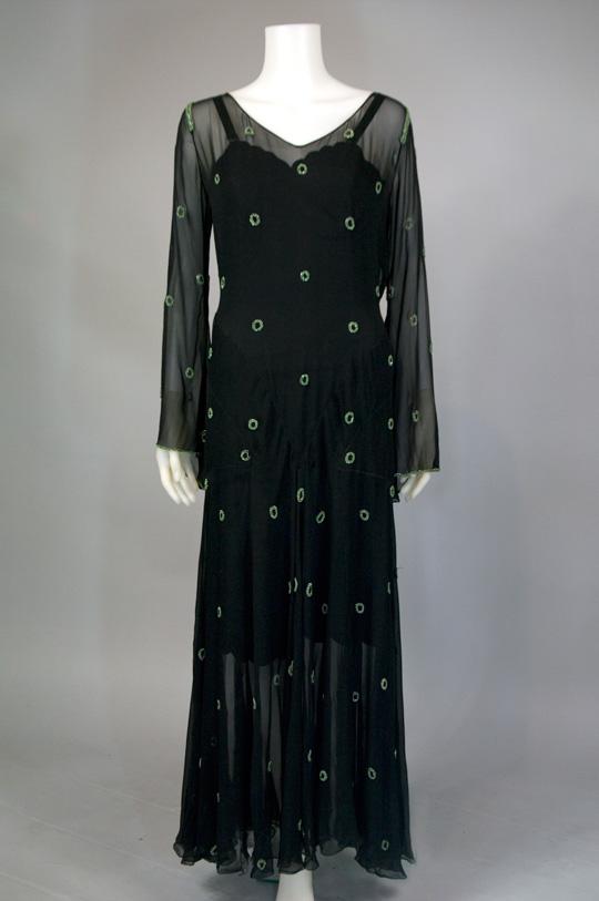 1930s style evening dresses photo - 1