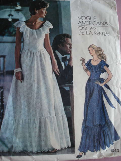 1970s evening dress photo - 1