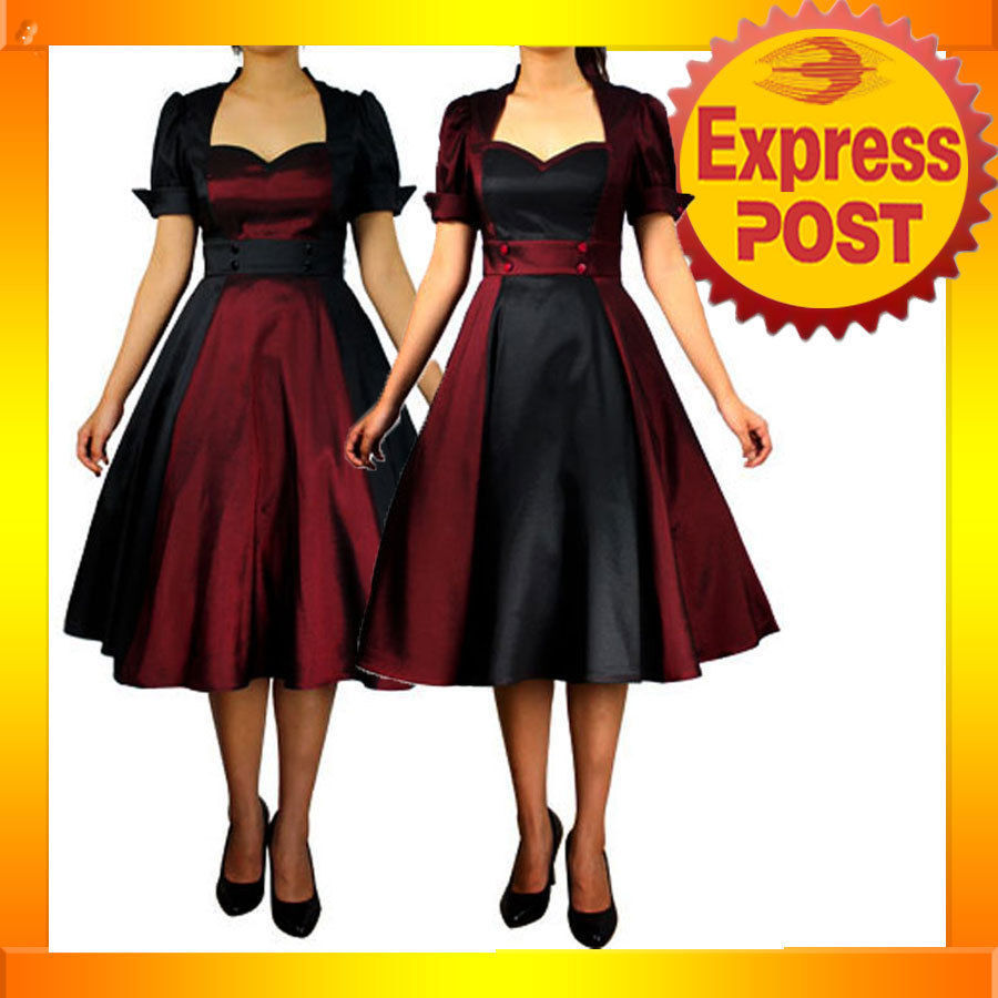 50s evening dresses photo - 1