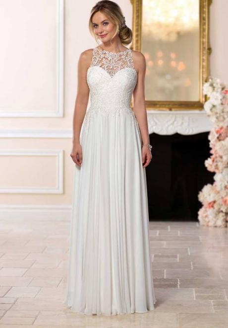 affordable elegant wedding dresses photo - 1