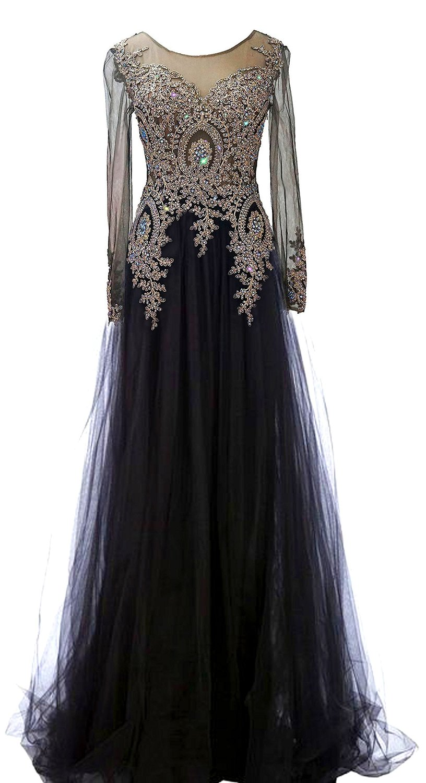 amazon long evening dresses photo - 1