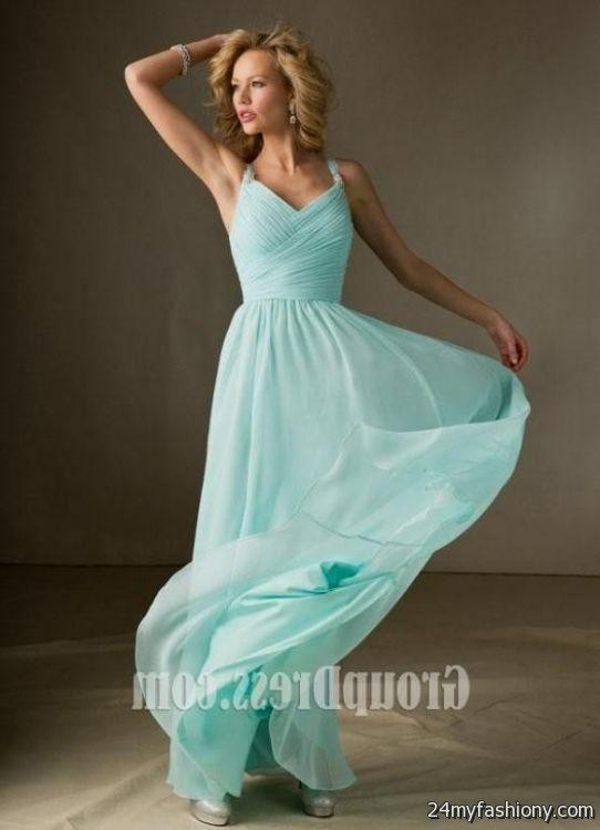 baby blue evening dresses photo - 1