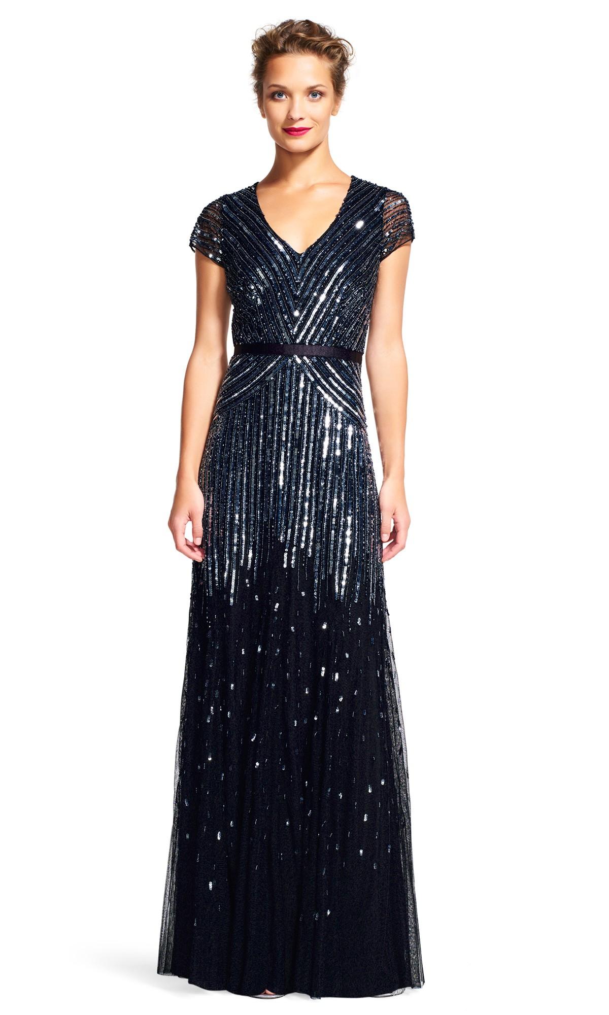 black evening maxi dresses photo - 1