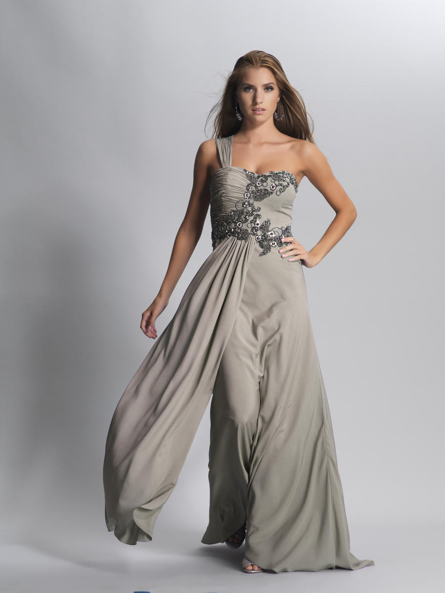 charcoal gray evening dresses photo - 1