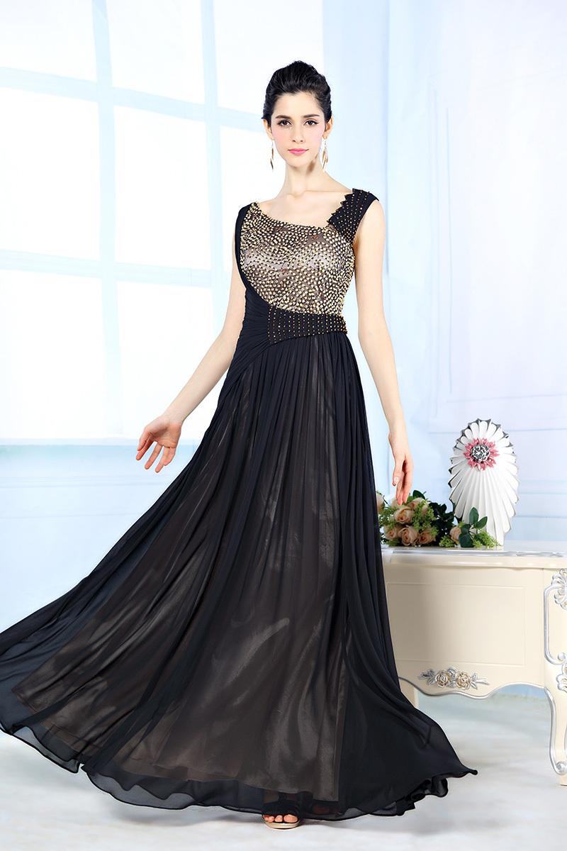 designer long evening dresses photo - 1