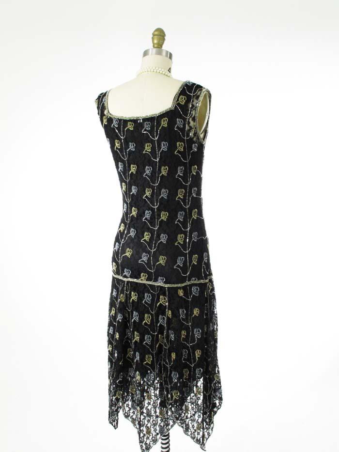 drop waist evening dress photo - 1