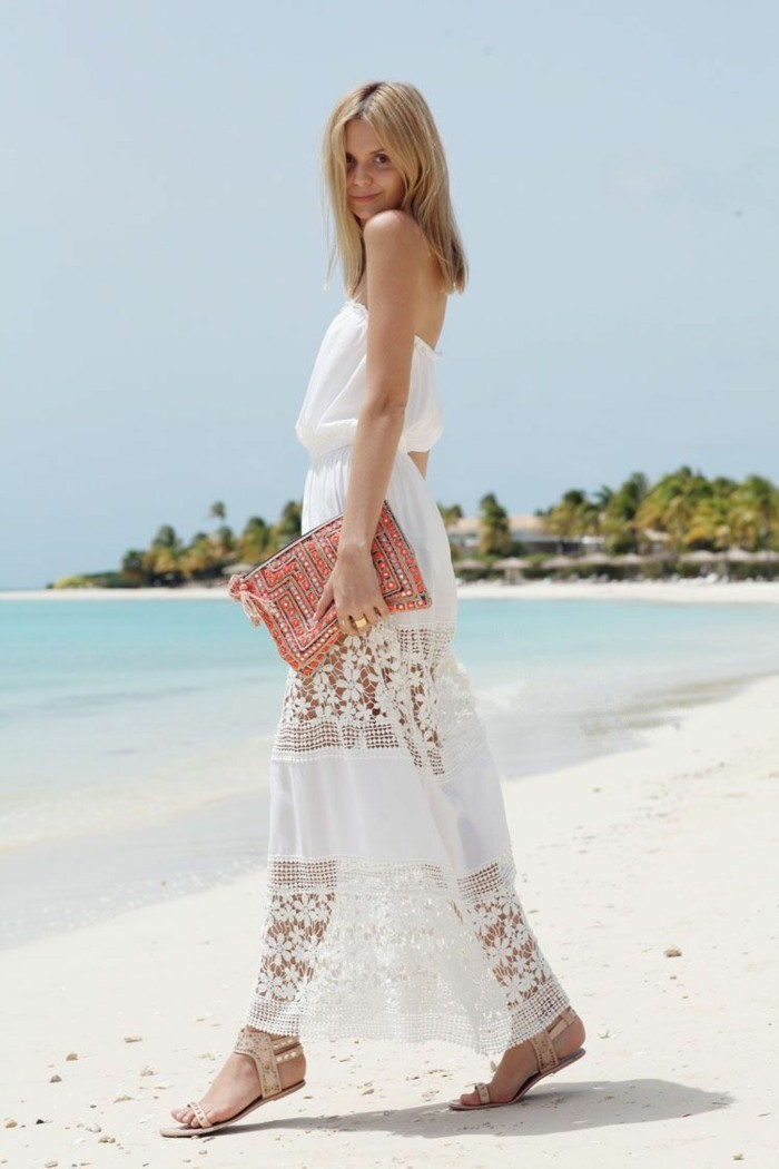 elegant beach dresses photo - 1
