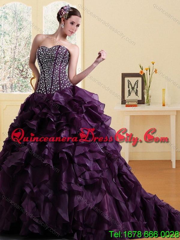 elegant burgundy prom dresses photo - 1