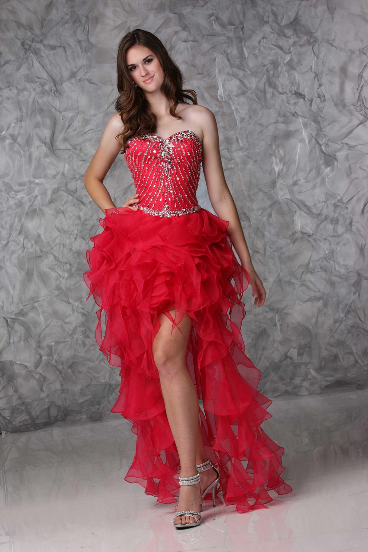 elegant cheap prom dresses photo - 1